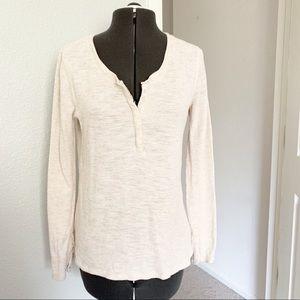 Pendleton cream thermal long sleeve shirt
